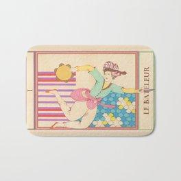 Tarot Card-The Juggler-Le Bateleur Bath Mat