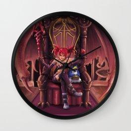 Wannabe Queen Wall Clock