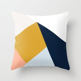 Mid Century Modern Vintage Throw Pillow
