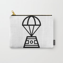 Parachuting Pod Icon Carry-All Pouch