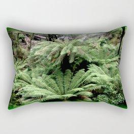 Ferns & Waterfall Rectangular Pillow
