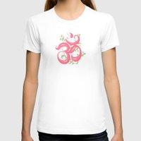 shabby chic T-shirts featuring Shabby Chic Om by Genie Wilson