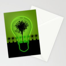 BulB Tree Stationery Cards