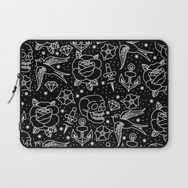 Black flash Laptop Sleeve