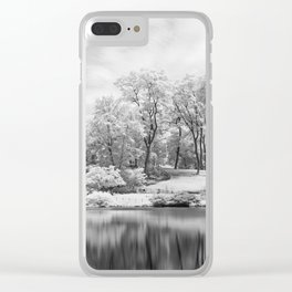 Central Park in Infrared Clear iPhone Case