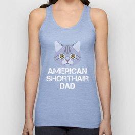 American Shorthair Dad Unisex Tank Top
