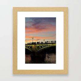 Bridge Life Framed Art Print