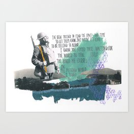 Place Your Hand In Mine Art Print