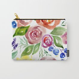 Florabunda Carry-All Pouch
