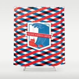Nazaré - The North Canyon Shower Curtain