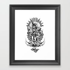 West Kali - Dark Framed Art Print