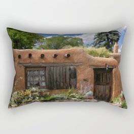 Casita de Santa Fe Rectangular Pillow
