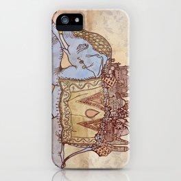 Delhephant iPhone Case