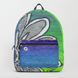 Colorglide Dragonfly Ombre blue green purple Backpack