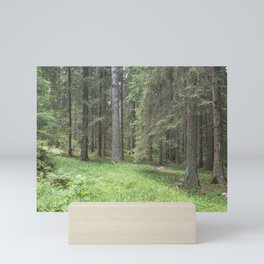 Pine forest Mini Art Print