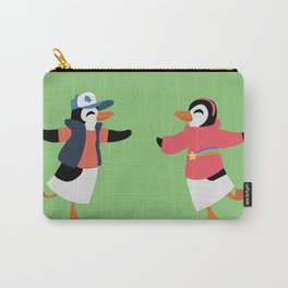 Mystery Twins Penguins Carry-All Pouch