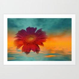 take time to look at flowers -121- Kunstdrucke
