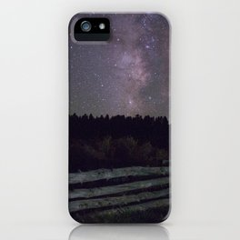 Glittered Night iPhone Case