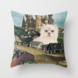 Giant Cat Throw Pillow
