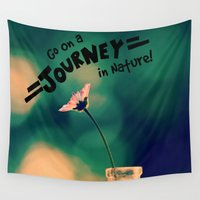 journey Wall Tapestries featuring Journey by RDelean