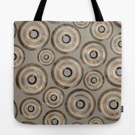Enso Circles - Zen Circles Pastel Gold Tote Bag