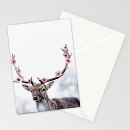 Blossom Deer Stationery Cards