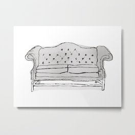 Chesterfield Metal Print