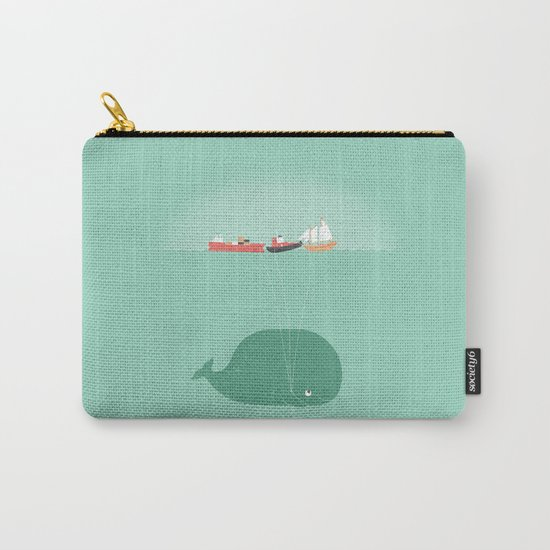 Whale Balloons  Carry-All Pouch