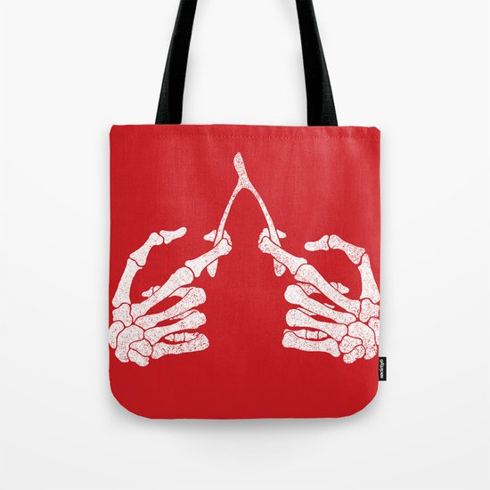 Wishbones Tote Bag