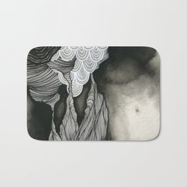 Clouds and Water Bath Mat