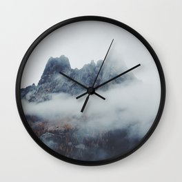 Smoky Liberty Bell Wall Clock