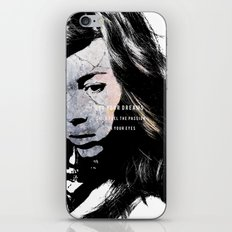 Do your dreams still fuel the passion in your eyes? iPhone & iPod Skin