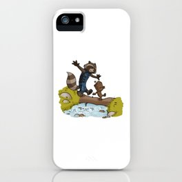 Rocket and Groots iPhone Case
