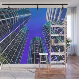 look into the sky -2- Wall Mural