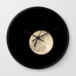 Lunar Beauty 1...Original Photography Wall Clock