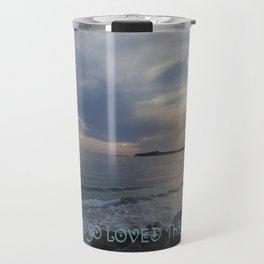 """""""God's Love"""" Travel Mug"""