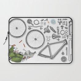 a bike's flatlay Laptop Sleeve