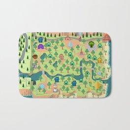 Animal Crossing (どうぶつの 森) Bath Mat