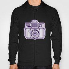 I Still Shoot Film Holga Logo - Reversed Deep Purple Hoody