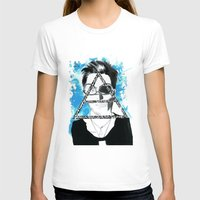 jared leto T-shirts featuring jared triangle leto by anxiety