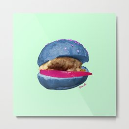 Alien Slider Metal Print