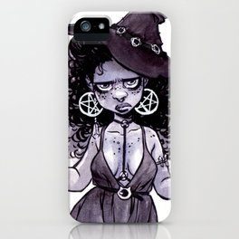 Coffee Witch iPhone Case
