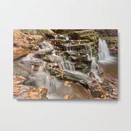 Cayuga Falls Metal Print