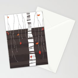 The last of the leaves. Stationery Cards