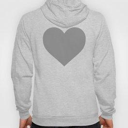 Grey Heart Hoody