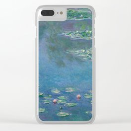 Water Lilies, Claude Monet,1840-1926 Clear iPhone Case