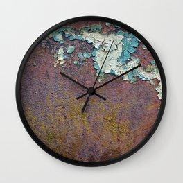 Paint mosaic Wall Clock