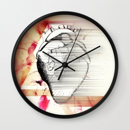 Vagabond Heart Wall Clock