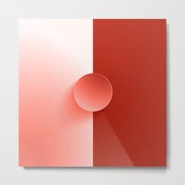 Red Booster Metal Print