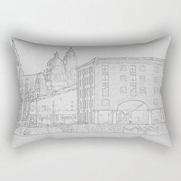 Three Graces Rectangular Pillow